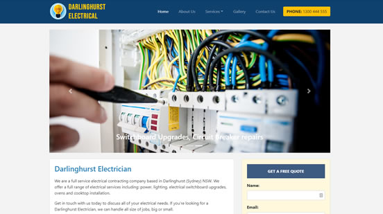 web design for electricians